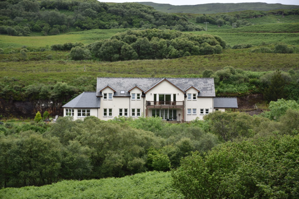 Killoran House from Hill Opposite