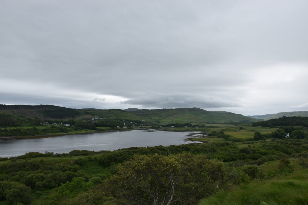Dervaig from Hill Opposite