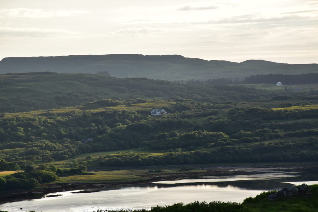 Killoran House from Dervaig Late Evening