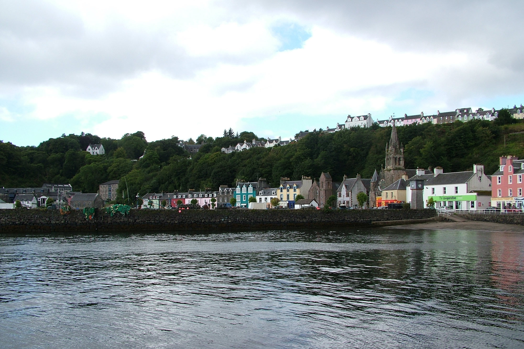 …Killoran House is close to Tobermory…