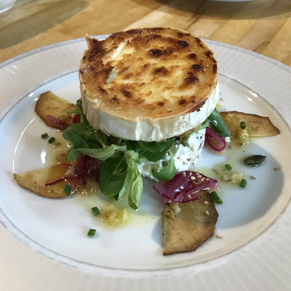 Goat's Cheese with Waldorf Salad-201820180509