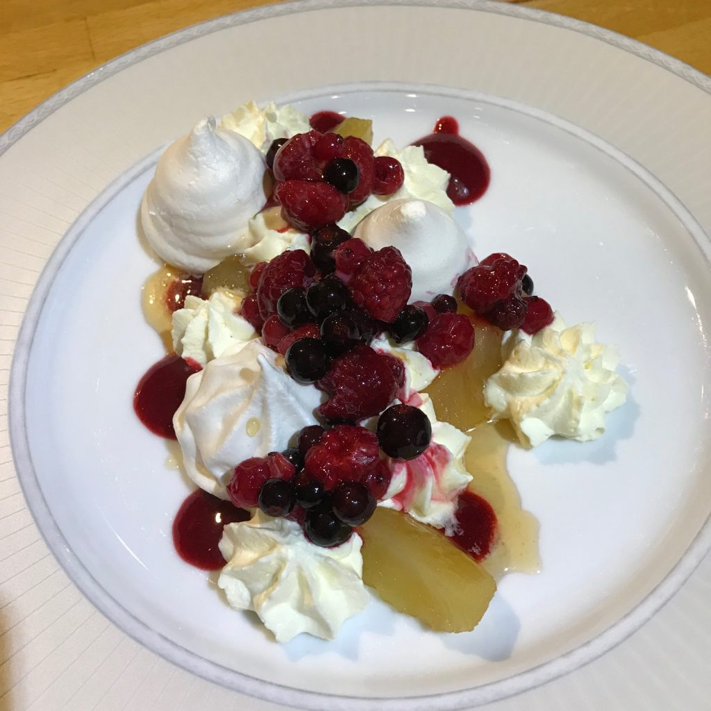 Assorted Berry Eaton Mess with Apples - 20180924