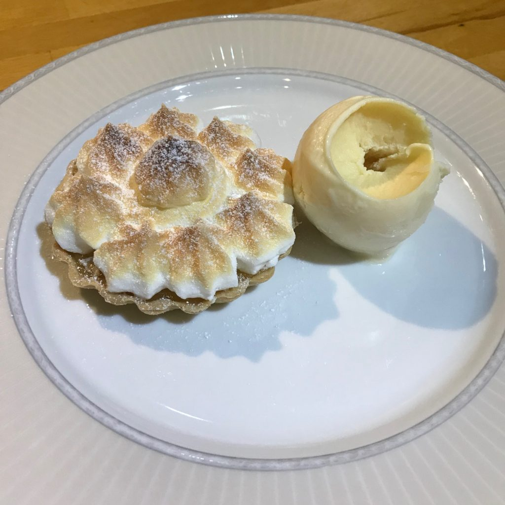 Lemon Meringue with Lemon Curd Ice Cream - 20180912