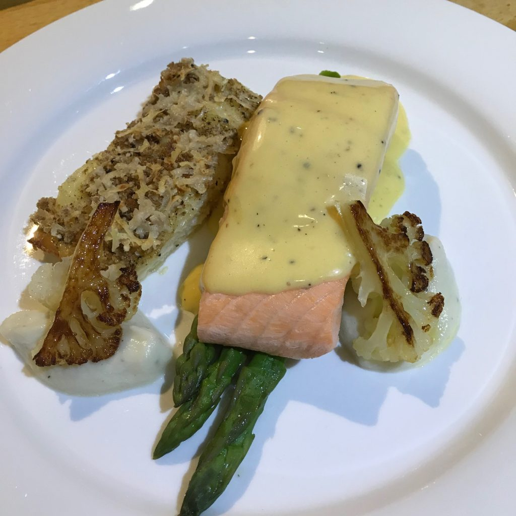 Salmon with Hollandaise - 20180910