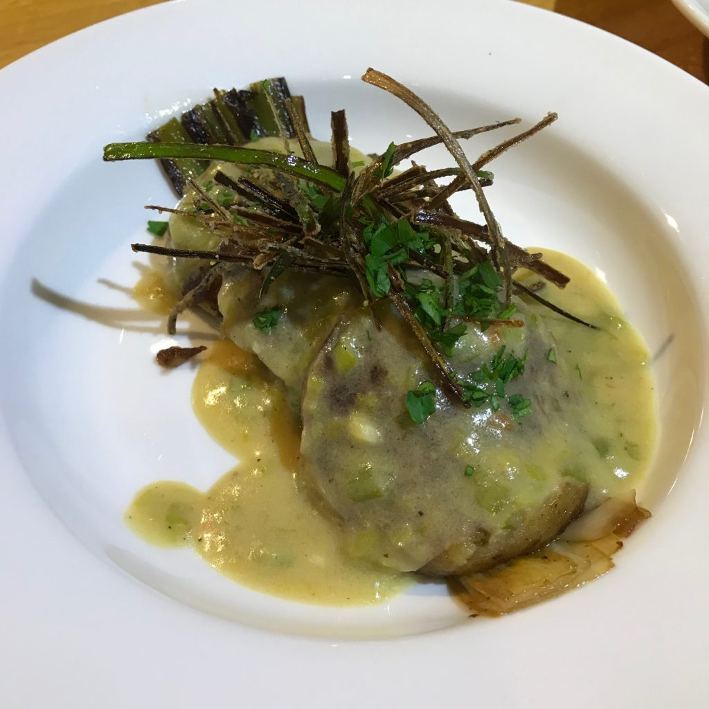 Vegan Potato and Leek Ravioli - 20180919
