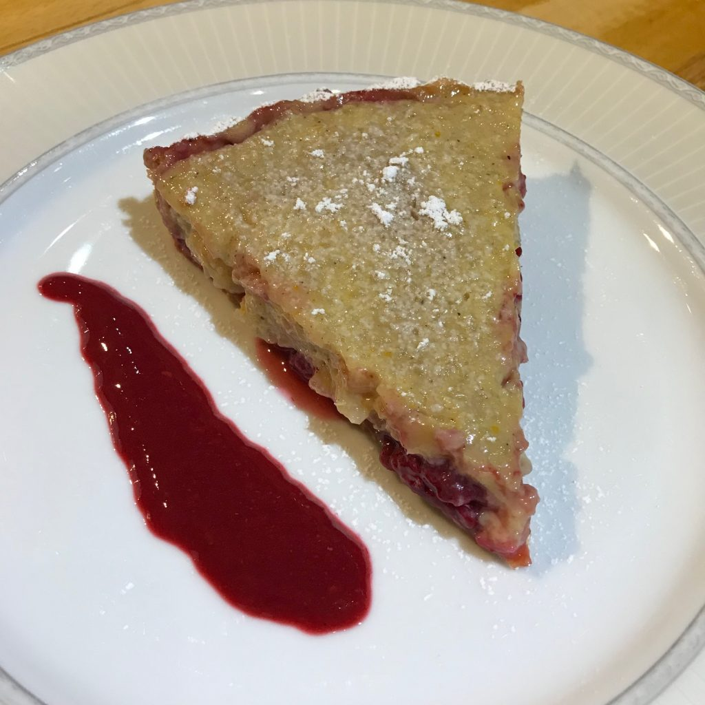 Vegan Rice Pudding Tart - 20180919