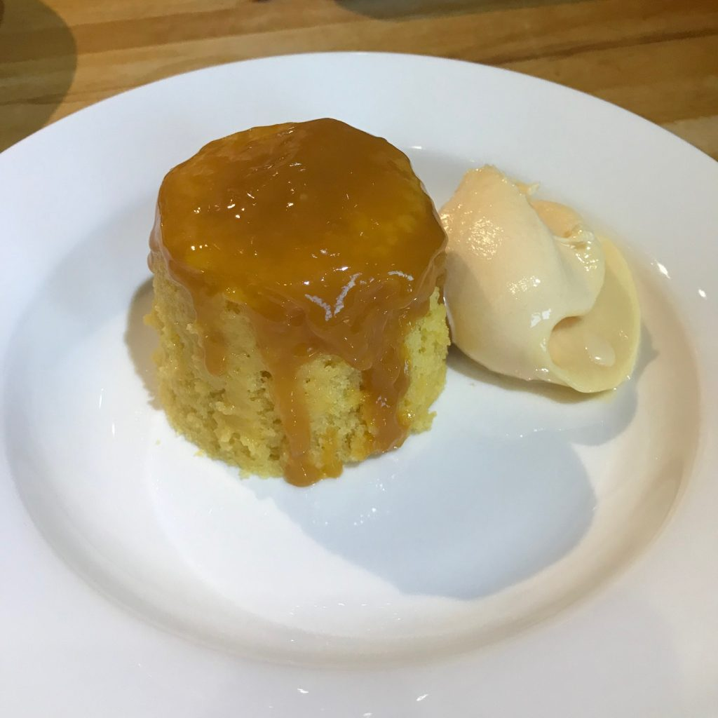 20190503 - Steamed Orange Sponge with Hot Orange Sauce