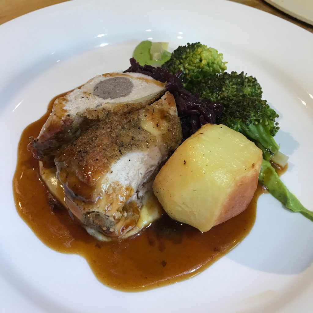 20190507 - Guinea Fowl with Black Pudding