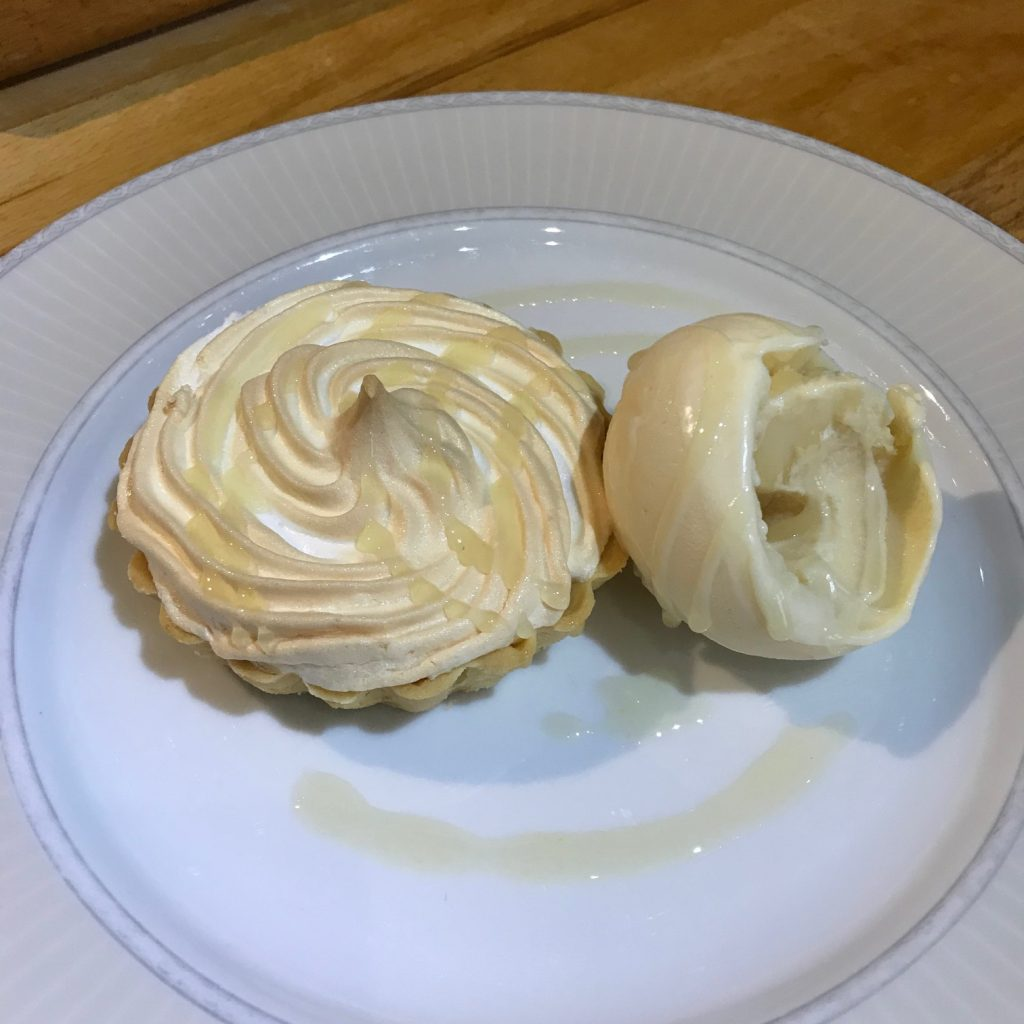 20190508 - Lemon Meringue Pie with Lemon Curd Ice Cream