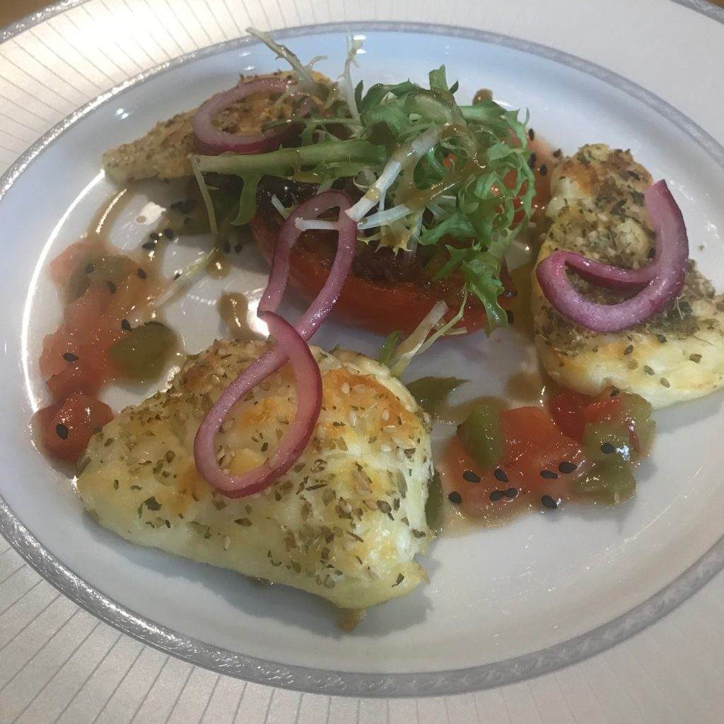 20190520 - Halloumi with Tomatoes, Sweet Peppers & Shallots