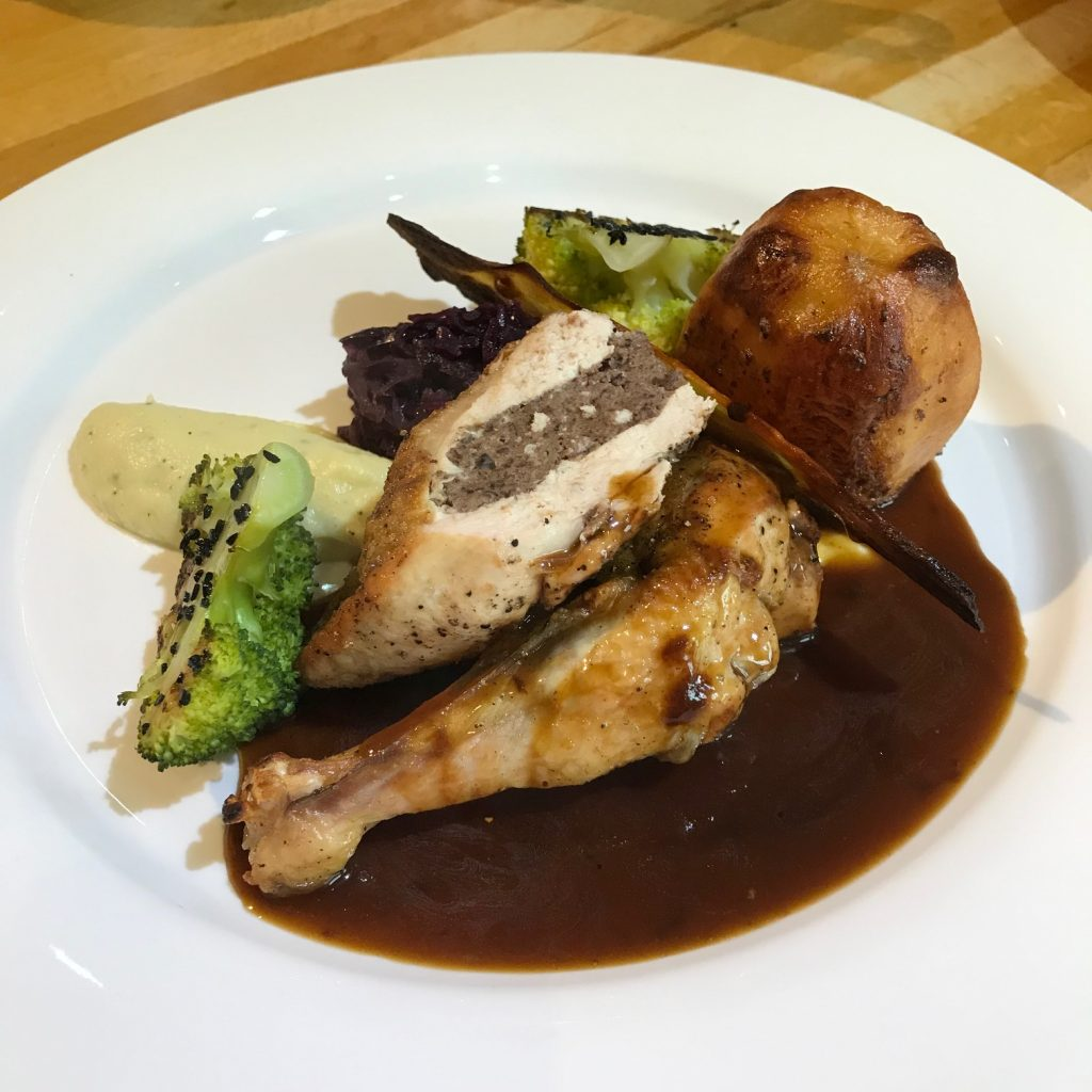 20190529 - Guinea Fowl with Black Pudding
