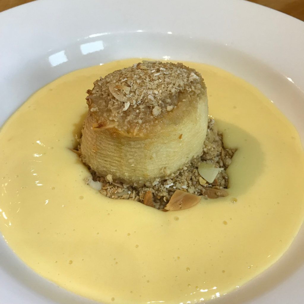 20190530 - Bramley Apple Crumble and Custard