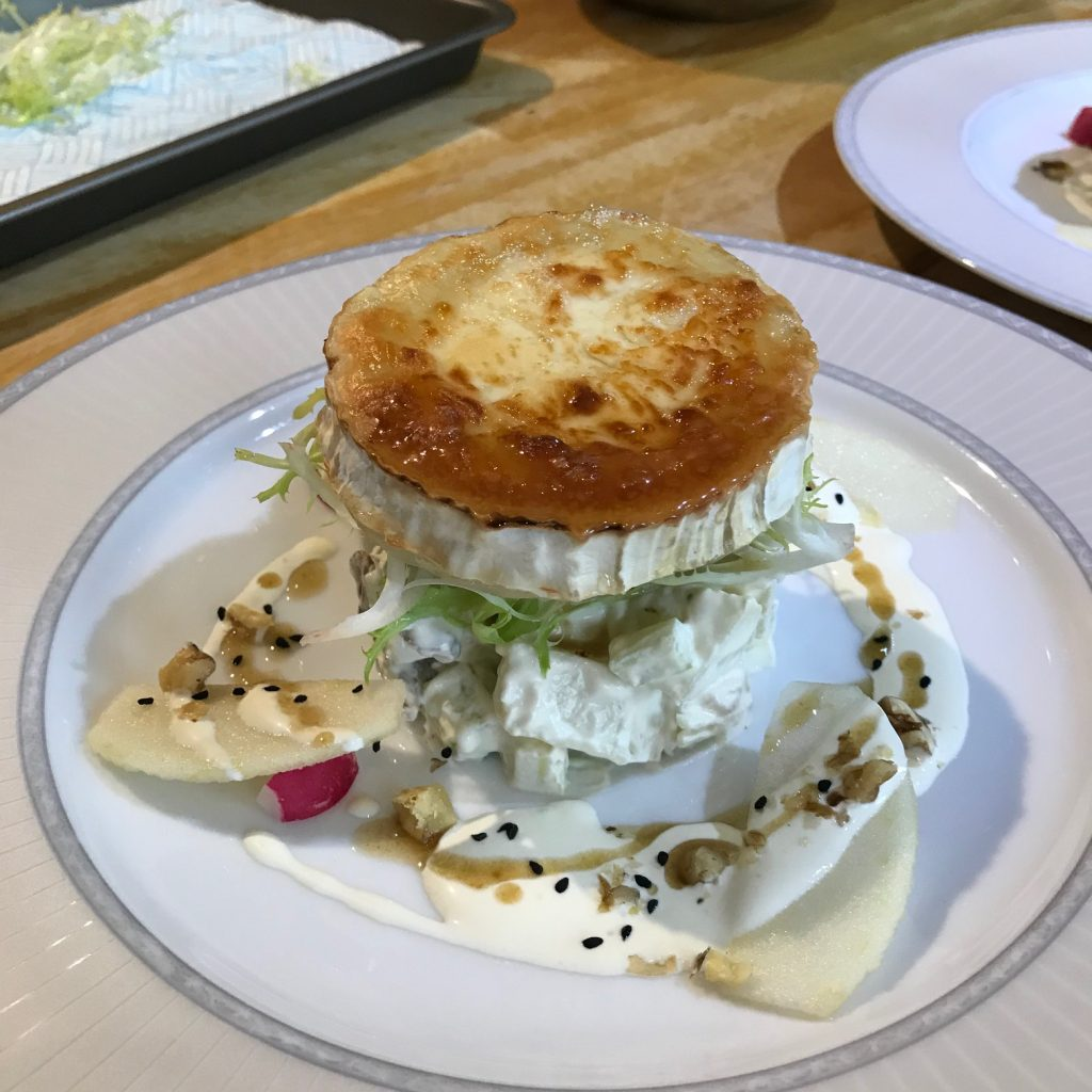 20190624 - Goat's Cheese with Apples, Walnuts & Celery