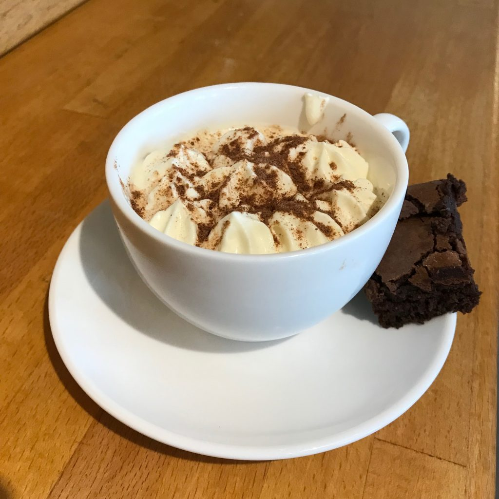20190627 - Dark Chocolate Cappuccino Mousse with Chocolate Brownie