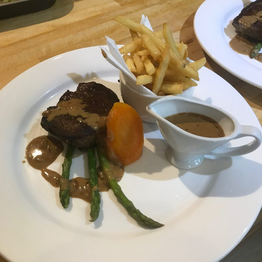20190705 - Fillet Steak with Black Peppercorn Sauce