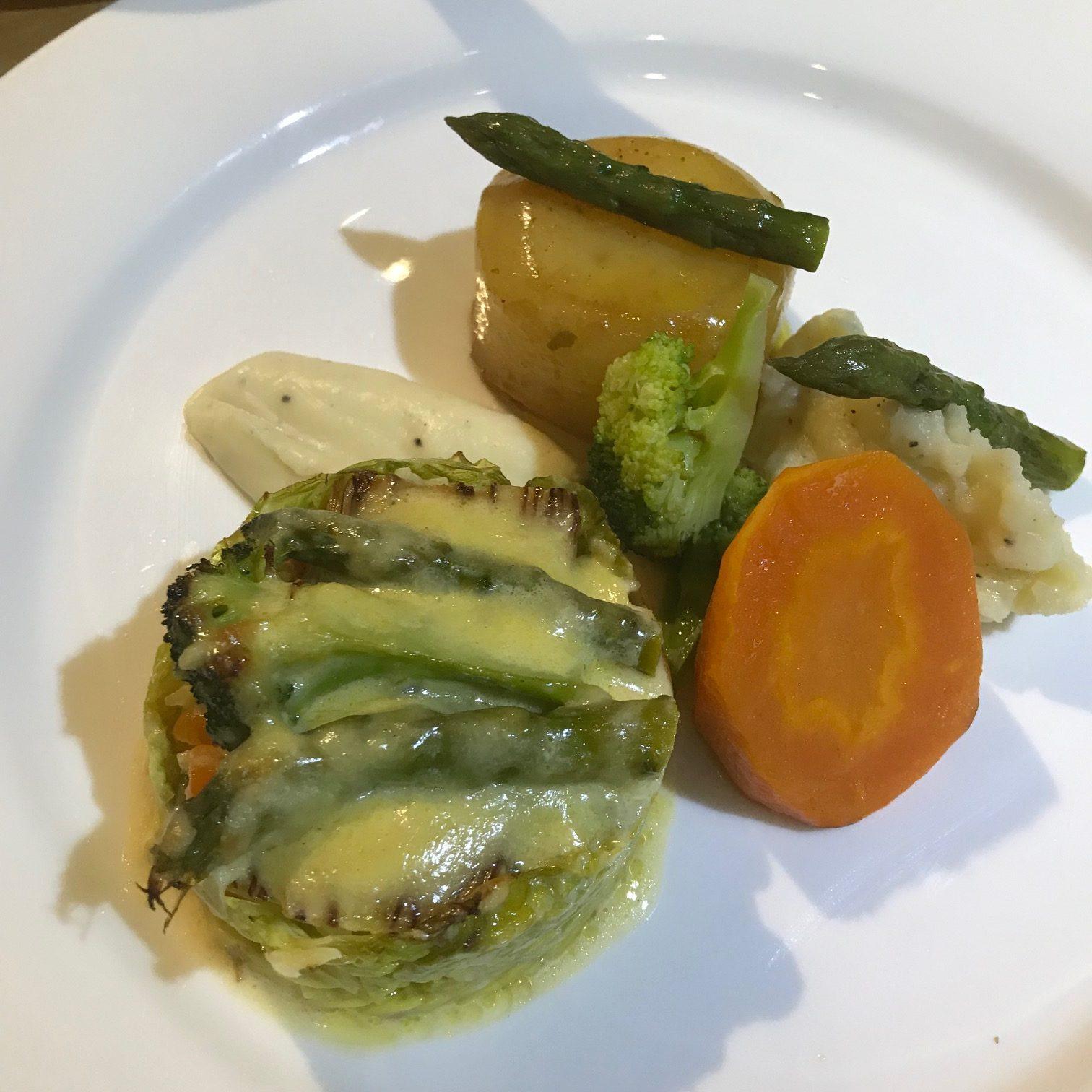 20190815 - Asparagus, Brocolli and Leek Gratin