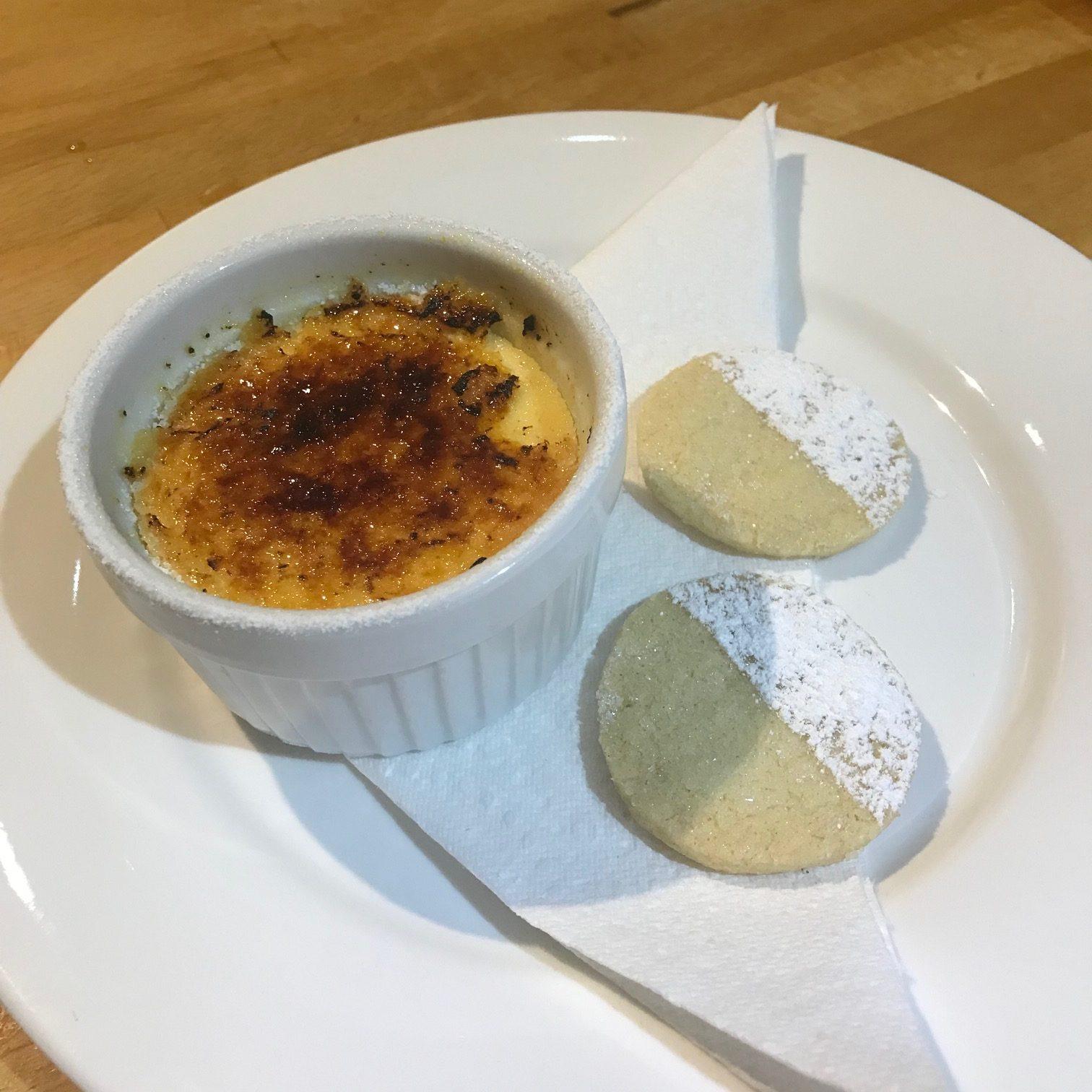 20190828 - Crème Brûlée with Shortbread Biscuits