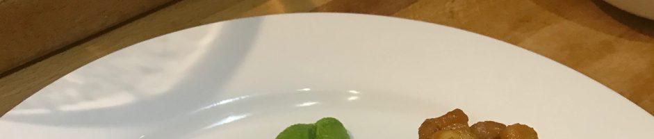 Dinner Menu for 19/09/2019