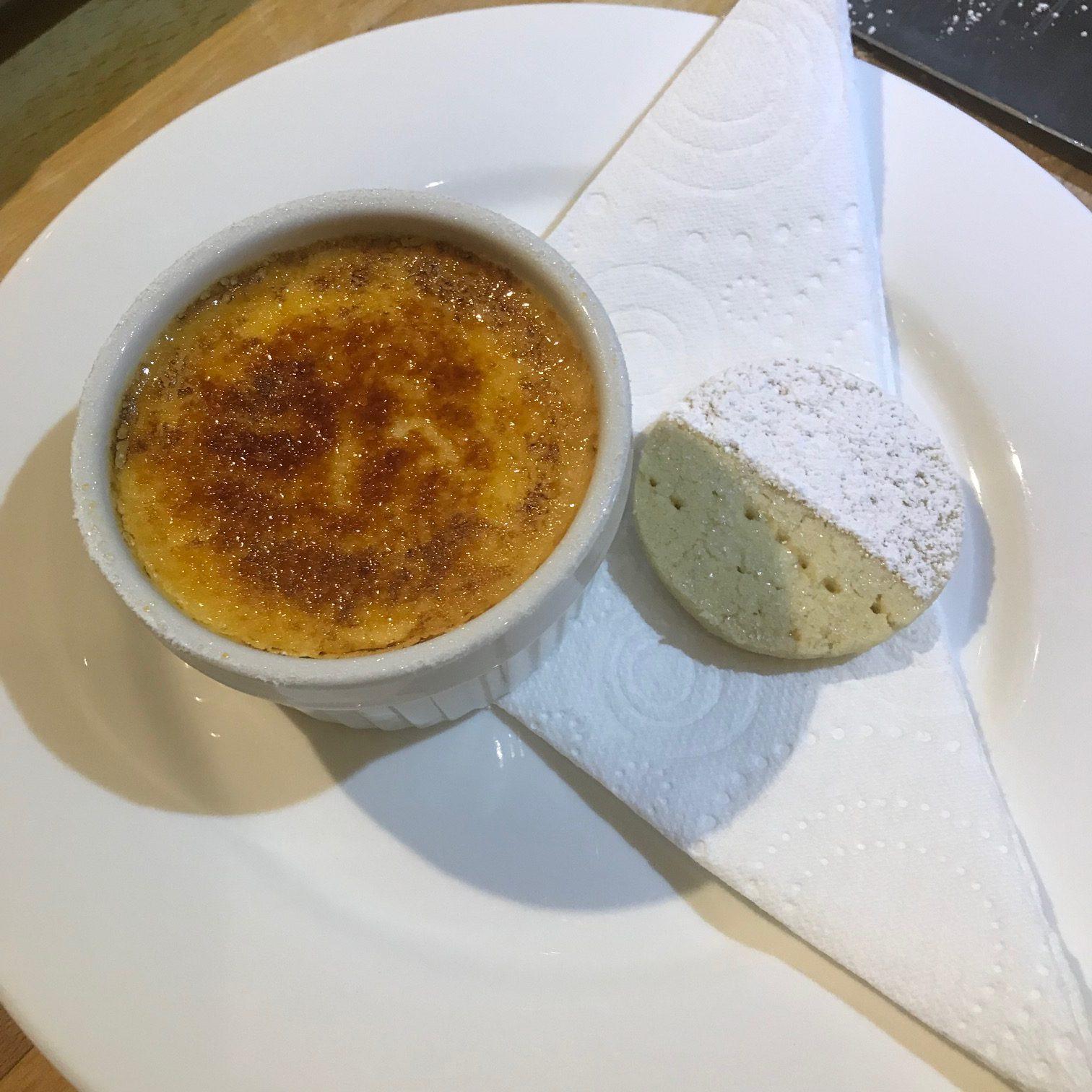 20190923 - Crème Brûlée with Shortbread Biscuits