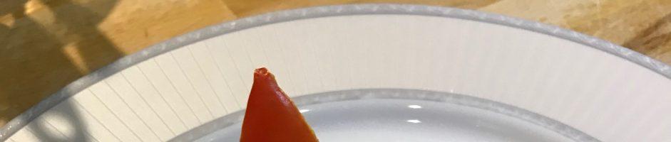 Dinner Menu for 23/09/2019