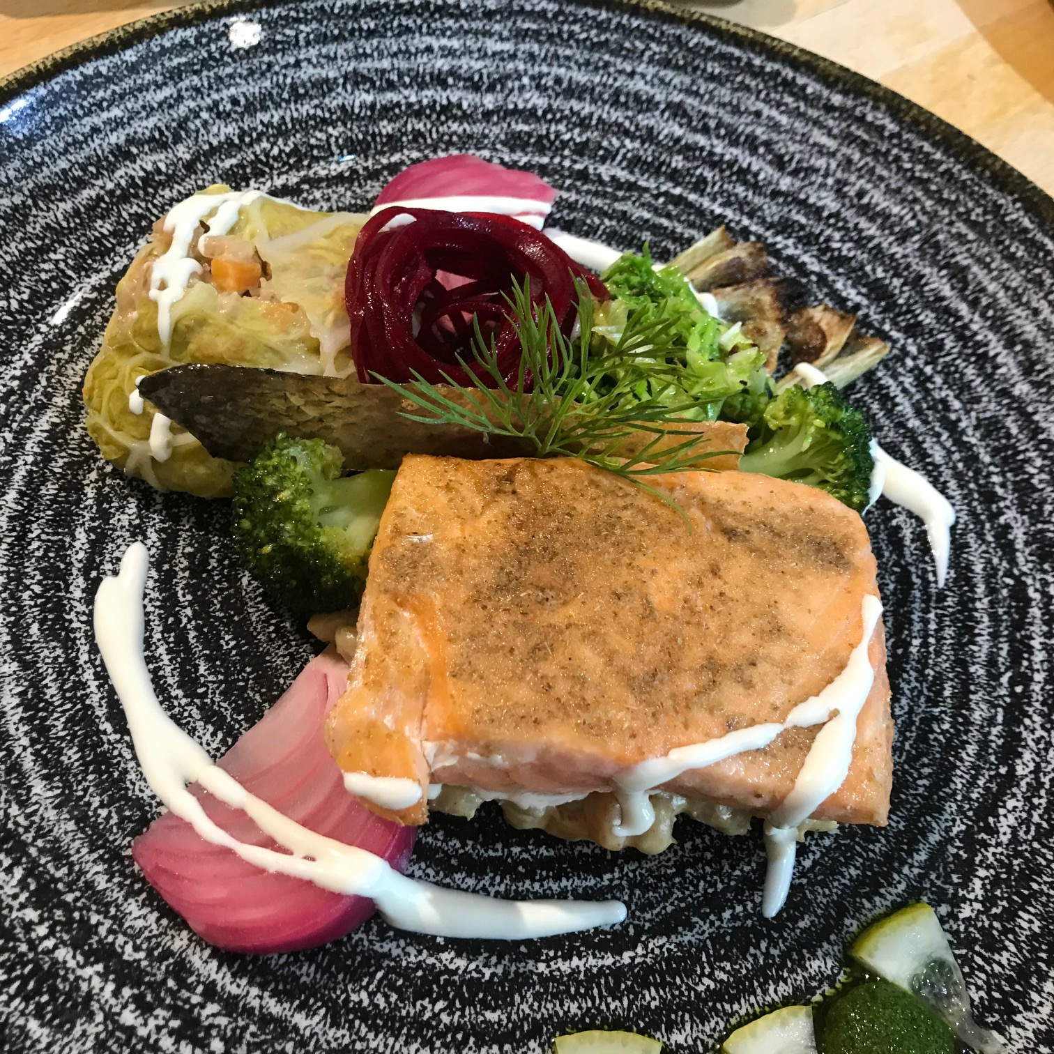 20200818-Salmon, Cabbage and Pearl Barley