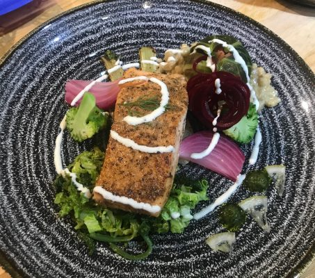 20200901-Salmon, Peal Barley and Cabbage
