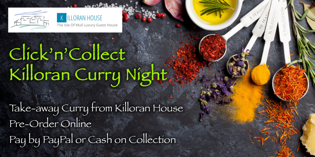 Click-n-Collect Killoran Curry with Logo