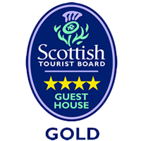 Visit Scotland 4 Star Guest House Gold Logo